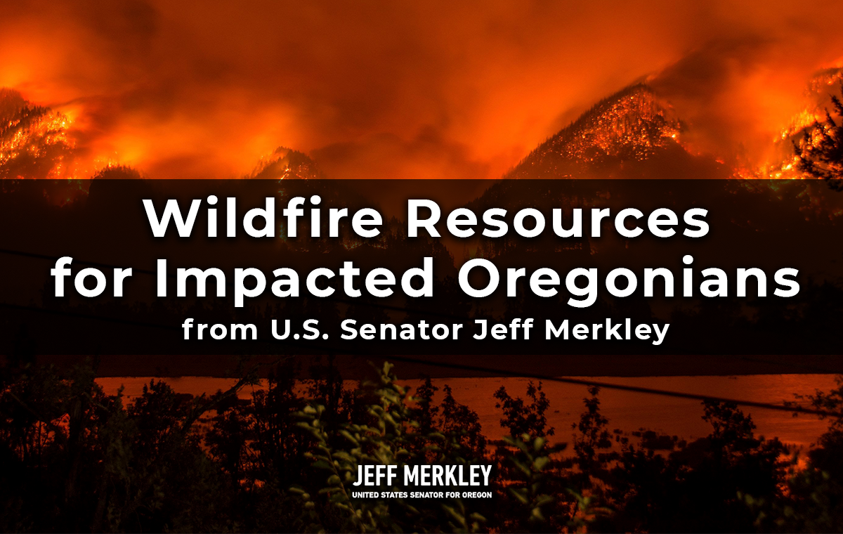 Wildfire Resources for Impacted Oregonians