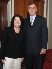 Senator Merkley Meets with Supreme Court Nominee Judge Sonia Sotomayor