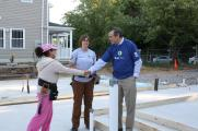 Senator Merkley Kicks Off  a Home Build for World Habitat Day